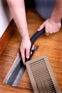 Duct cleaning to improve air quality in CT homes